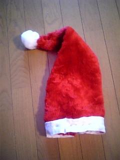 サンタさんの帽子