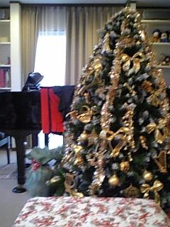 ピアノ教室のクリスマス会