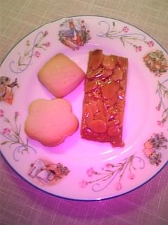 レモンクッキーとアマンディーヌ