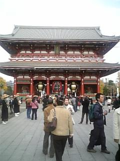 ♪ふたりで出かけた浅草寺