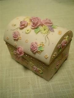 薔薇のケース