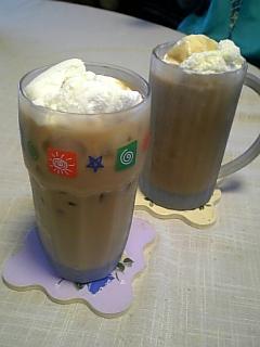 ♪今年はふたりアイスコーヒー
