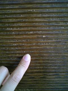 被害の爪痕